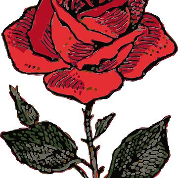 My Dear Rose by GrizzlyGoods