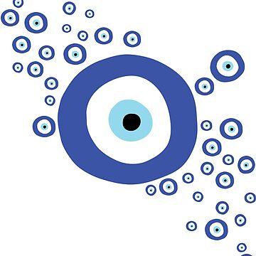 Evil Eye - Good Luck Charm - Greek - Middle Eastern by Anartsysoul