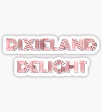 Dixieland Delight Schriftzug Sticker
