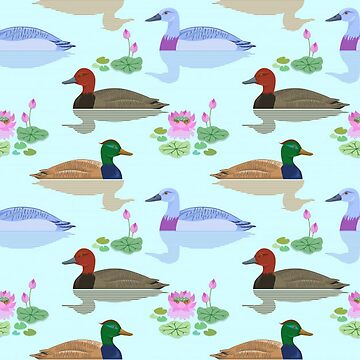 Bright and Colorful Ducks by pugmom4