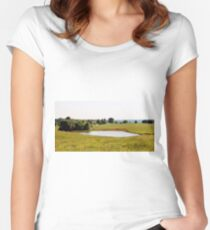 Farmland Women's Fitted Scoop T-Shirt