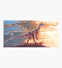 A Scent in the Wind - Cryolophosaurus Photographic Print