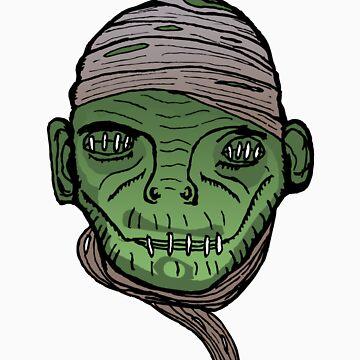 mummys head by bezoomy