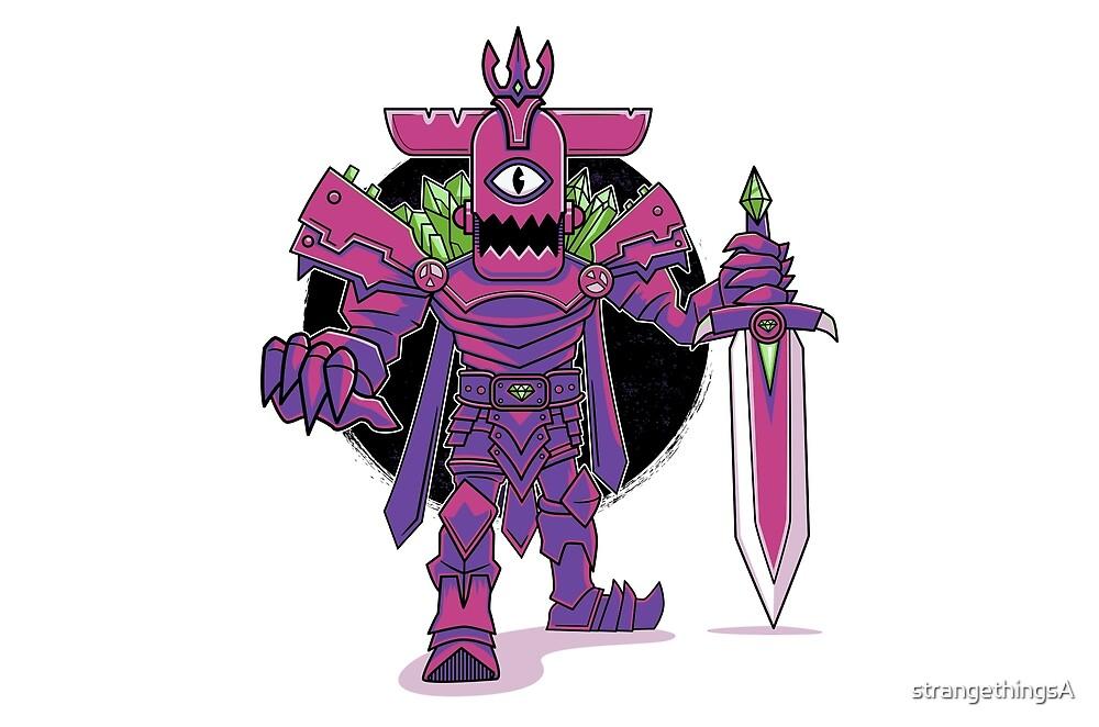 Black Hole Eggplant King by strangethingsA