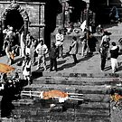 Pashupatinath - before the Pyre by Kristi Bryant