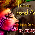 Inspired Art Group New Badge submission by Marilyns