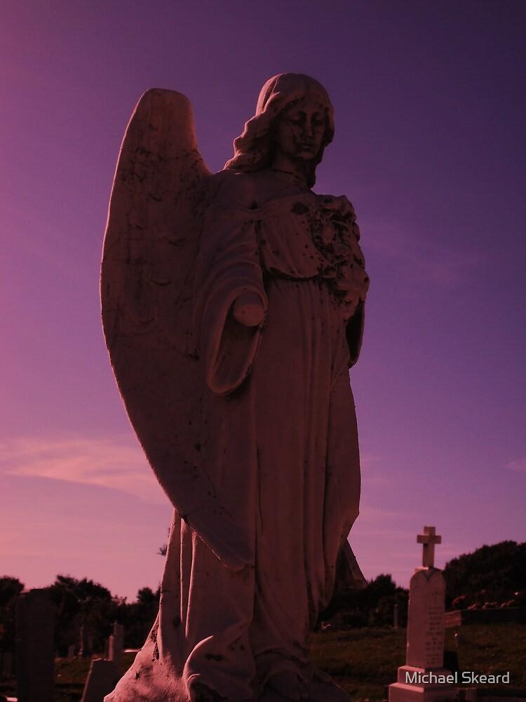 the sad angel  by Michael Skeard