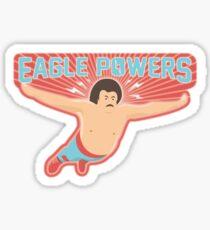 Nacho Libre Eagle Powers Sticker
