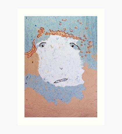 Uncertain People - Eric Art Print