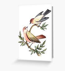 Bird lovers Greeting Card