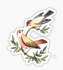 Bird lovers Sticker