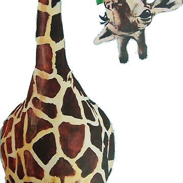 giraffe  by kevinzegers19