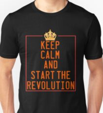 This is the awesome revolutionary Tshirt Those who make peaceful revolution Start the revolution Unisex T-Shirt