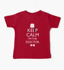 Keep Calm I'm The Doctor Baby Tee