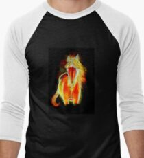 Night Rider - Horse Men's Baseball ¾ T-Shirt
