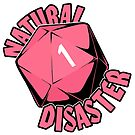 Natural Disaster - Pink by starfishface