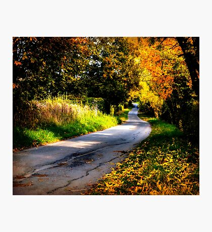 Autumn Dreams. Photographic Print