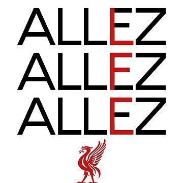 Allez Liverpool by Nkioi