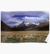 Eglinton Valley, Fiordland National Park Poster