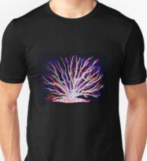 Sea Coral - Neon Slim Fit T-Shirt