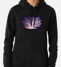 Sea Coral - Neon Pullover Hoodie