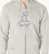 Dip it low Zipped Hoodie