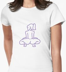 Dip it low Women's Fitted T-Shirt