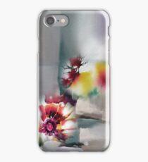 Blooms R iPhone Case/Skin