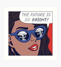 Pop Optimism Girl Art Print
