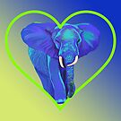 My Elephant's Heart by Tatyana Binovskaya