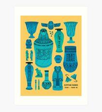 Egyptian Faience Art Print