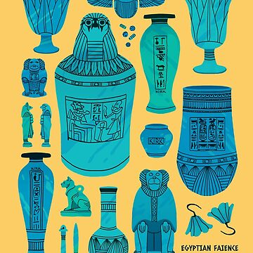 Egyptian Faience by flaroh