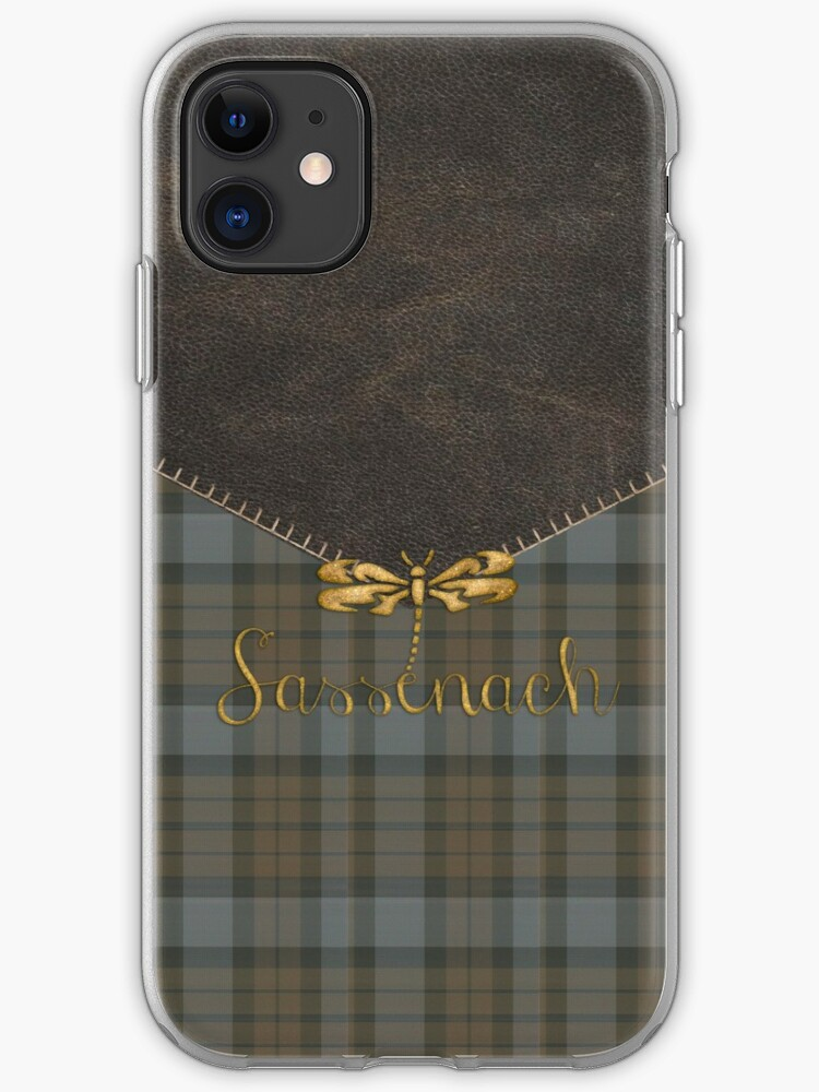 TARTAN LEATHER OUT 2 iphone 11 case