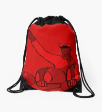 We Protect All Drawstring Bag