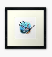 COMMON LIONFISH 1 Framed Print