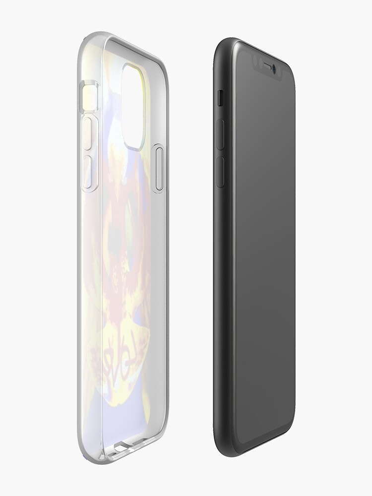Coque iPhone « Amour orchidée », par JLHDesign