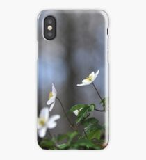 Forest anenomes iPhone Case/Skin
