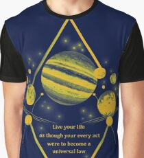 Kant Morals Graphic T-Shirt