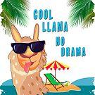 Cool Llama NO Drama by tinymystic