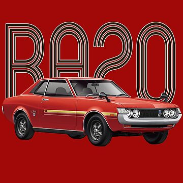 RA20 JDM Classic - Red by carsaddiction