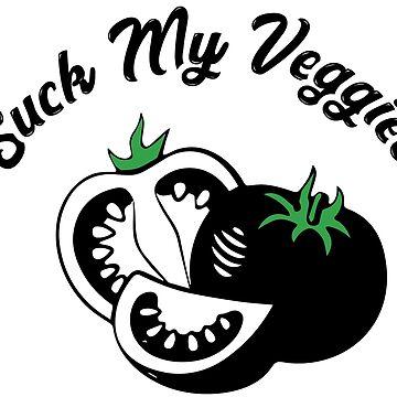Suck My Veggies Vegan by fuseleven