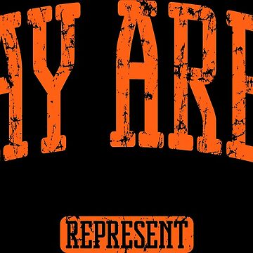Bay Area Represent (Orange Print) by smashtransit