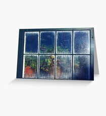 The Hothouse Window Greeting Card
