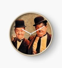 Laurel and Hardy, Hollywood Legends Clock