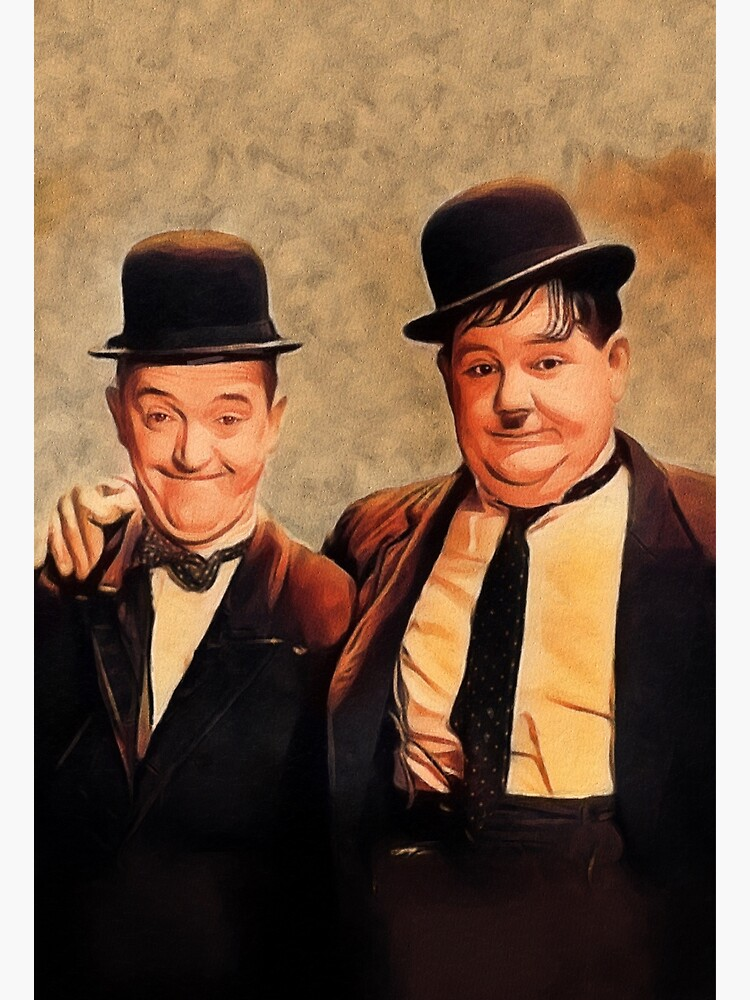 Laurel and Hardy, Hollywood Legends by SerpentFilms