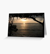 Triathlon at Huskisson Greeting Card