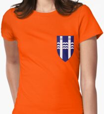 Reykjavík coat of arms Women's Fitted T-Shirt
