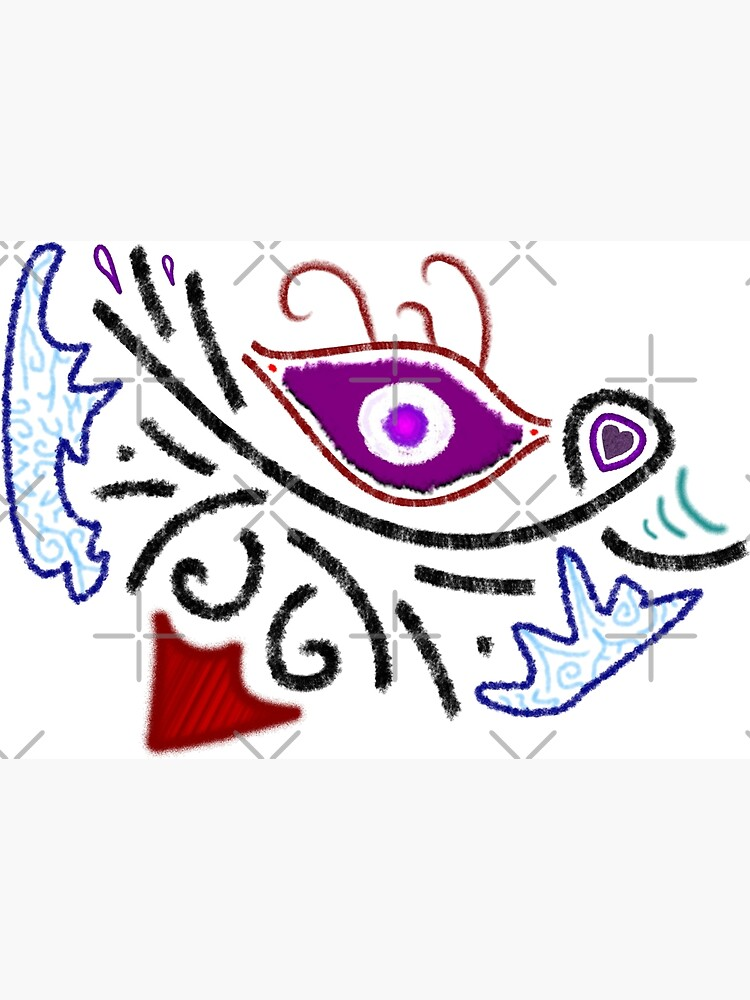 Merch #1 -- Rustic Tribal Cyclops Insignia by Naean