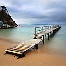 Shelley Beach Jetty - Portsea by Jim Worrall