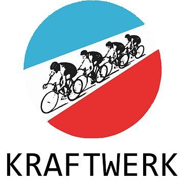 Kraftwerk Tour De France by NigglesNibbles